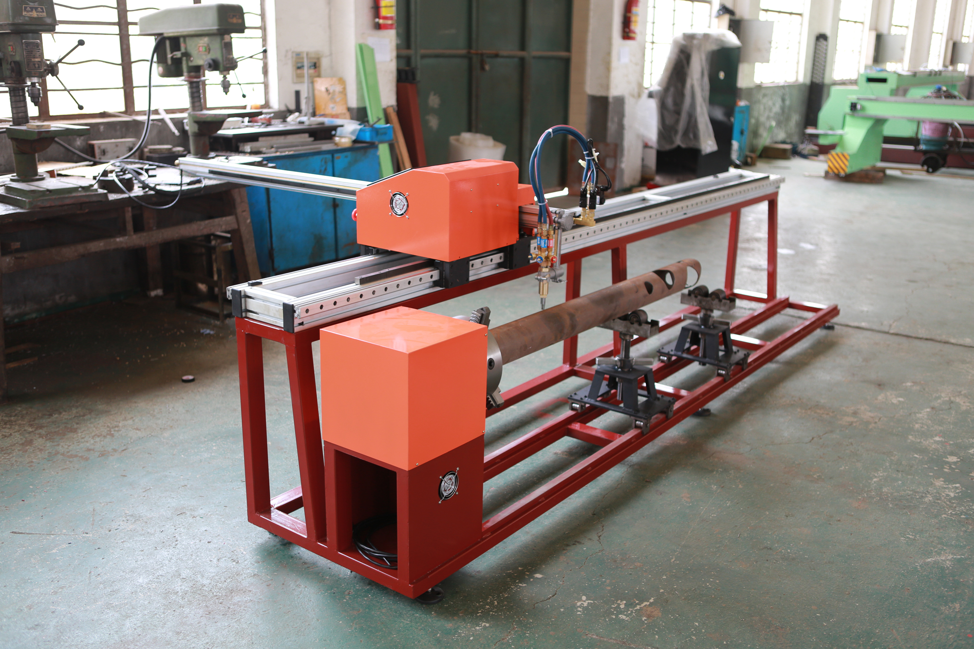 portable CNC Pipe Cutting Machine(5)