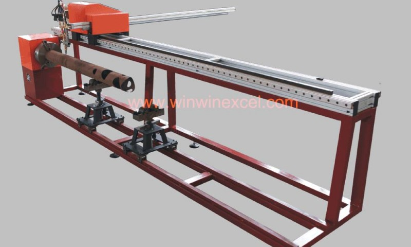เครื่องตัดท่อ ซีเอ็นซี ขนาดเล็ก Portable CNC Pipe Cutting Machine