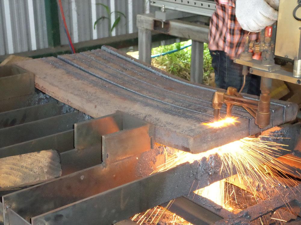 ลูกค้า Repeat Order เครื่องตัดแก๊ส CNC ที่ อ.ศรีราชา ชลบุรี
