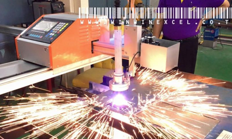 ติดตั้ง เครื่องตัดพลาสม่า CNC มหาวิทยาลัยเทคโนโลยีราชมงคลสุวรรณภูมิ วิทยาเขตนนทบุรี(ใต้)