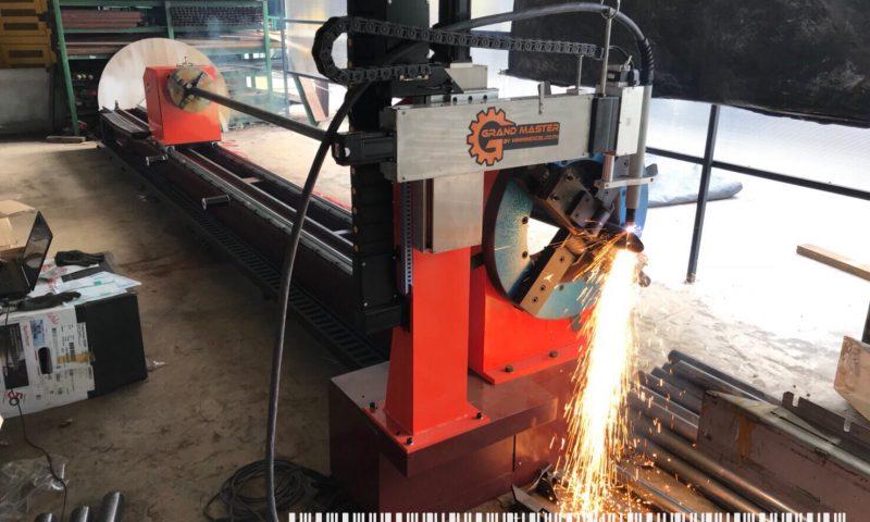 เครื่องตัดท่อเหลี่ยม และท่อกลม CNC