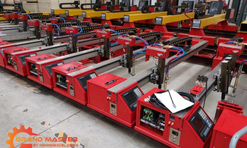 เครื่องตัดแก๊สและพลาสม่า ซีเอ็นซี CNC Portable Gantry 2019