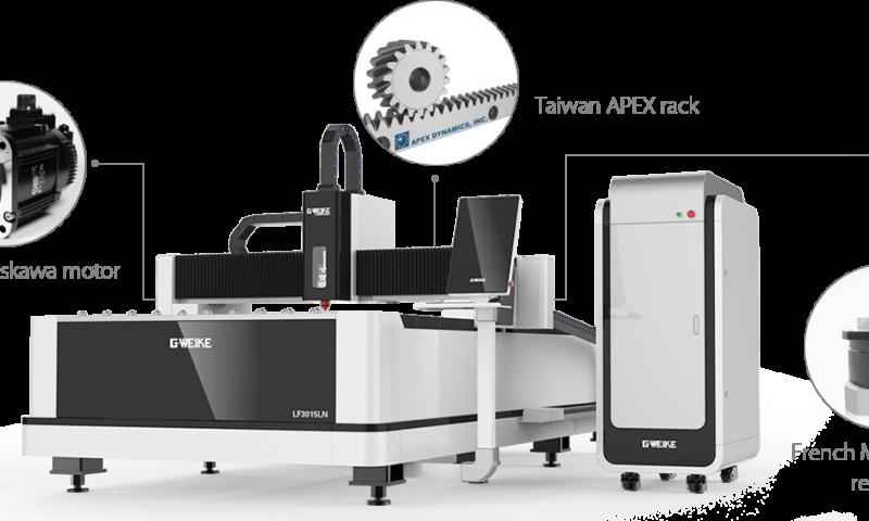 เครื่องตัดไฟเบอร์เลเซอร์ Fiber Laser Cutting Machine